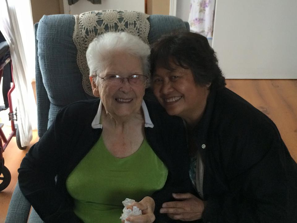 Pastor Maria Loving Seniors