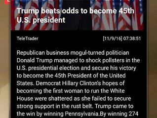 TRUMP WINS PRESIDENCY