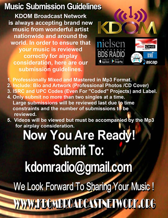 Music Submission GuidelinesKDOM Indie On