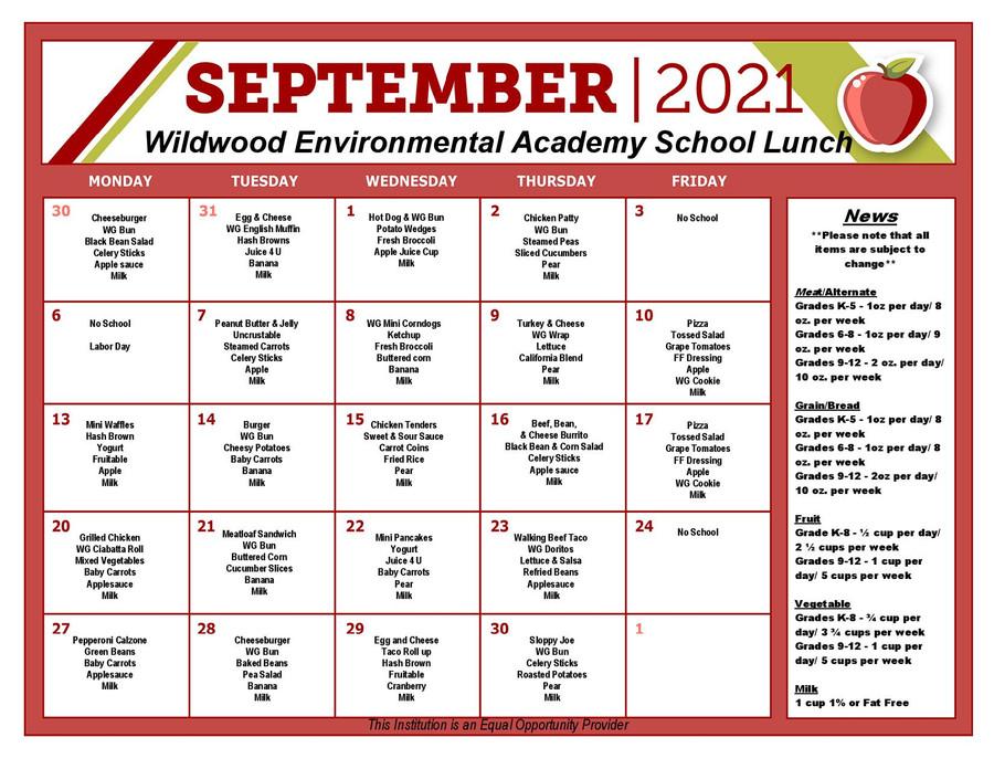 WW Lunch Sept