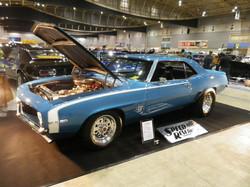 """'69 Camaro """"Blue Bullet"""""""