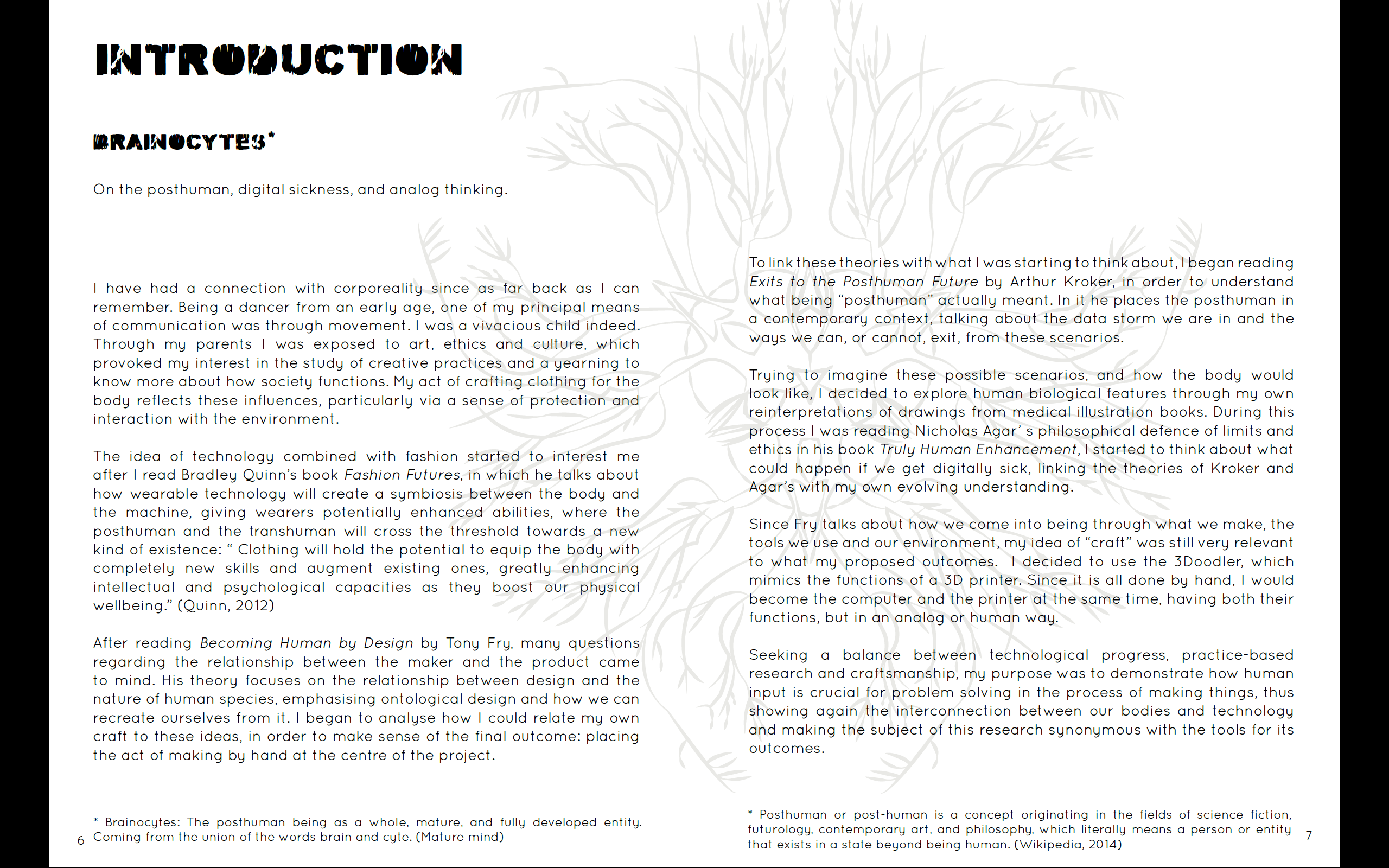 Brainocytes Graphic Theory Novel