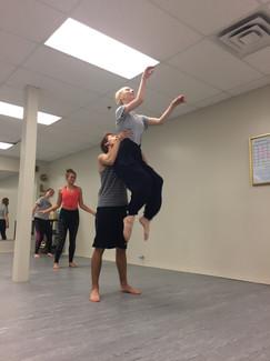 Alumni Dance Rehersal