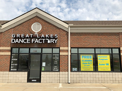 Great Lakes Dance Factory Exterior