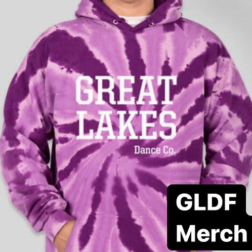 GLDCo Purple Tie Dye ADULT