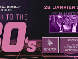 26 JANVIER 2018 BACK TO THE 80'S