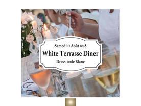 11 AOÛT 2018  White Terrasse Diner