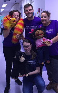 Chickenshed Theatre - Chelsea and Westminster Hospital Puppet Projec