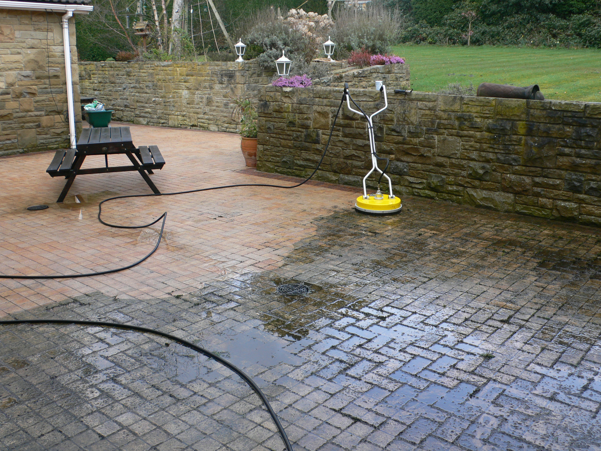 Block paving Clean buckie