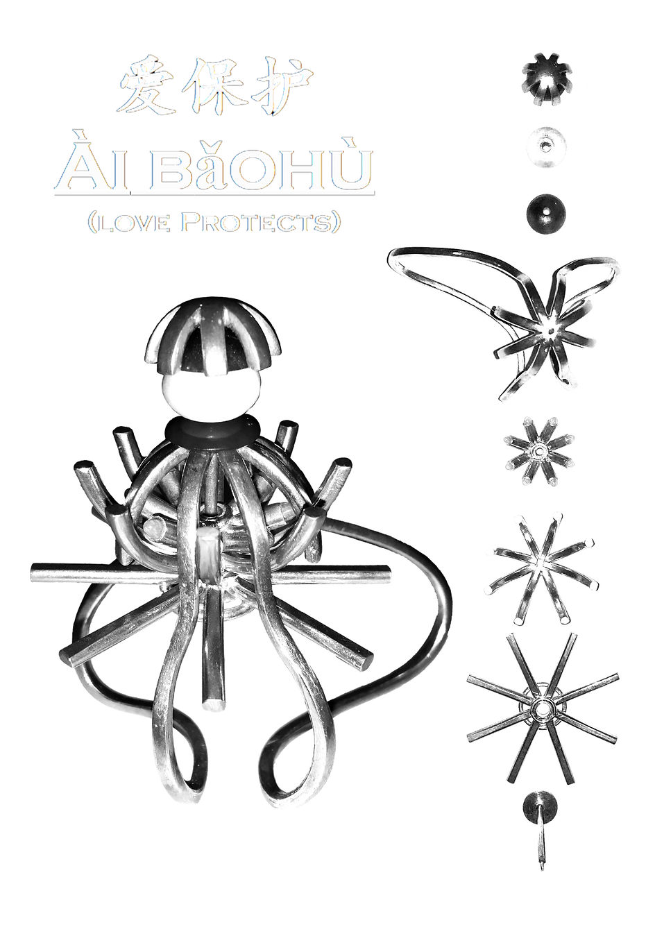Precious metal bursary design sheet Ai B