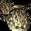 """Thumbnail: """"FLAME SET"""" - EARRINGS & NECKPIECE (925 SILVER/ 9K GOLD)"""