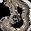 "Thumbnail: ""QUAD CHAIN SET""- EARRINGS/NECKPIECE/BRACELET (925 SILVER/9K GOLD)"