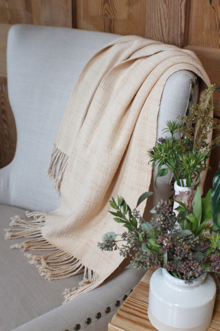 Neutral table runner