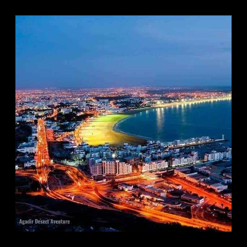 Agadir by night