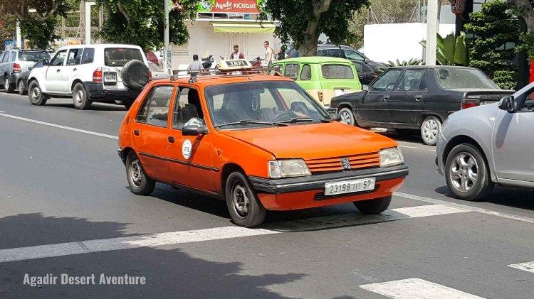 Les taxis d'Agadir