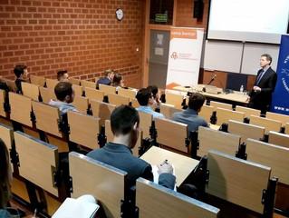 Dream Team - spotkanie na Uniwersytecie Warszawskim