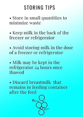 SOS Lactation Breasfeeding help for families seeking milk storage information