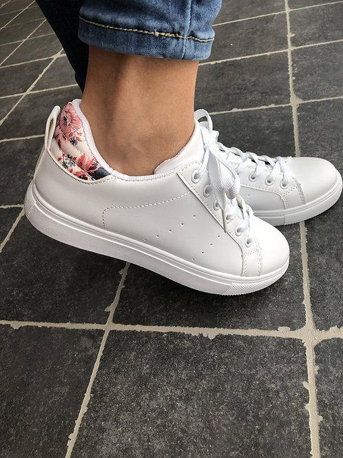 Sneakers flowers