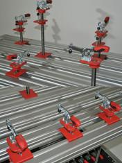 Technischer Arbeitsplatz Spannsysteme au