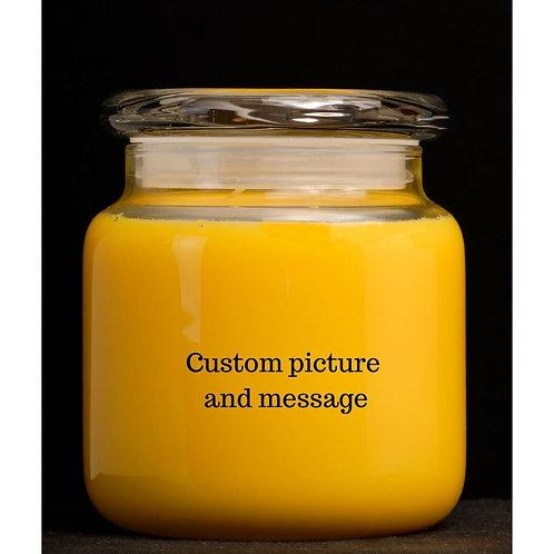 Custom JAR Candles 16oz 2 wick