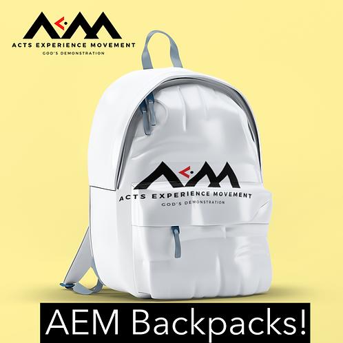 AEM Backpacks