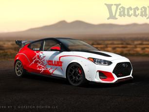 "Vaccar To Debut New Hyundai ""Club Car Series"" Race Car At SEMA Show For Winner International"