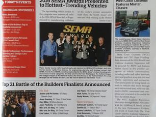 SEMA 'Show Daily' Showcases B&G x Vaccar Focus Colab.