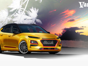"Vaccar Hyundai ""Club Kona"" Themed SEMA Project for Winner International"