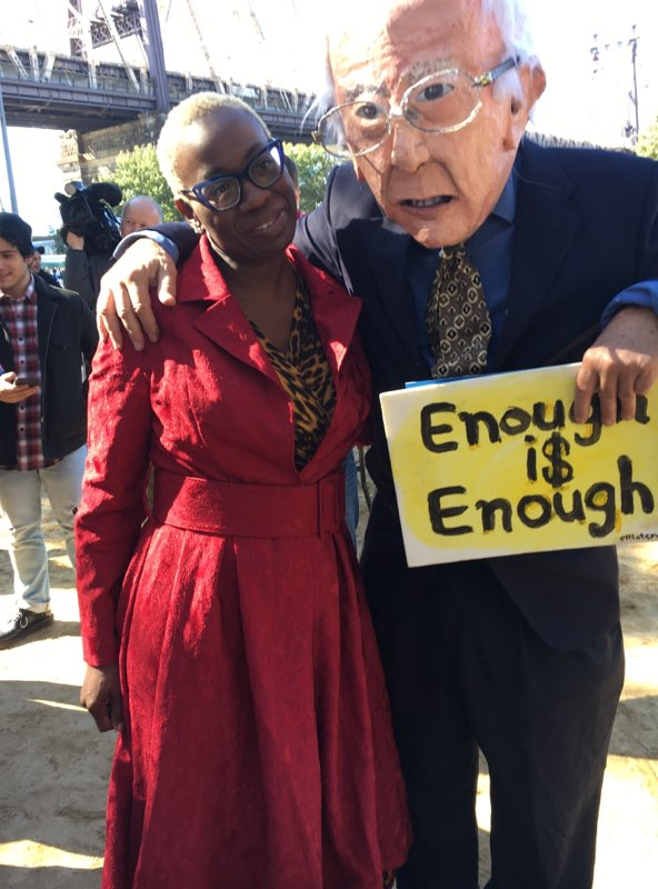 Nina Turner and Bernie