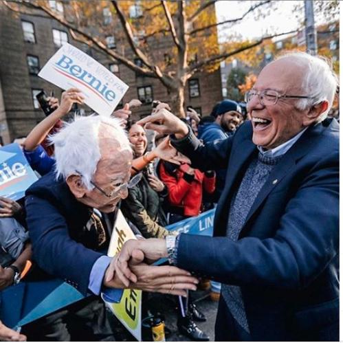 Bernie meets Bernie