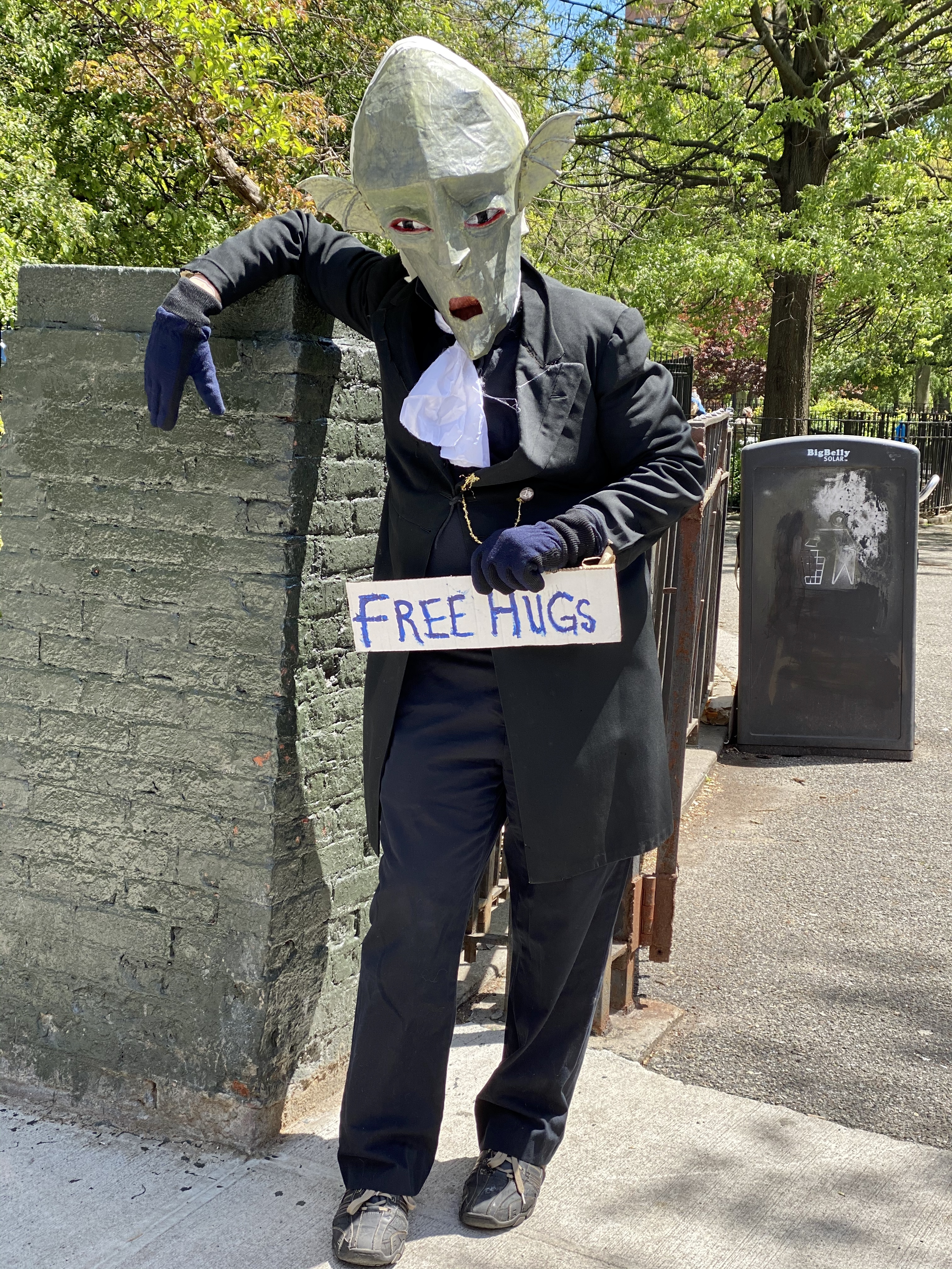 Covid Man - Free Hugs