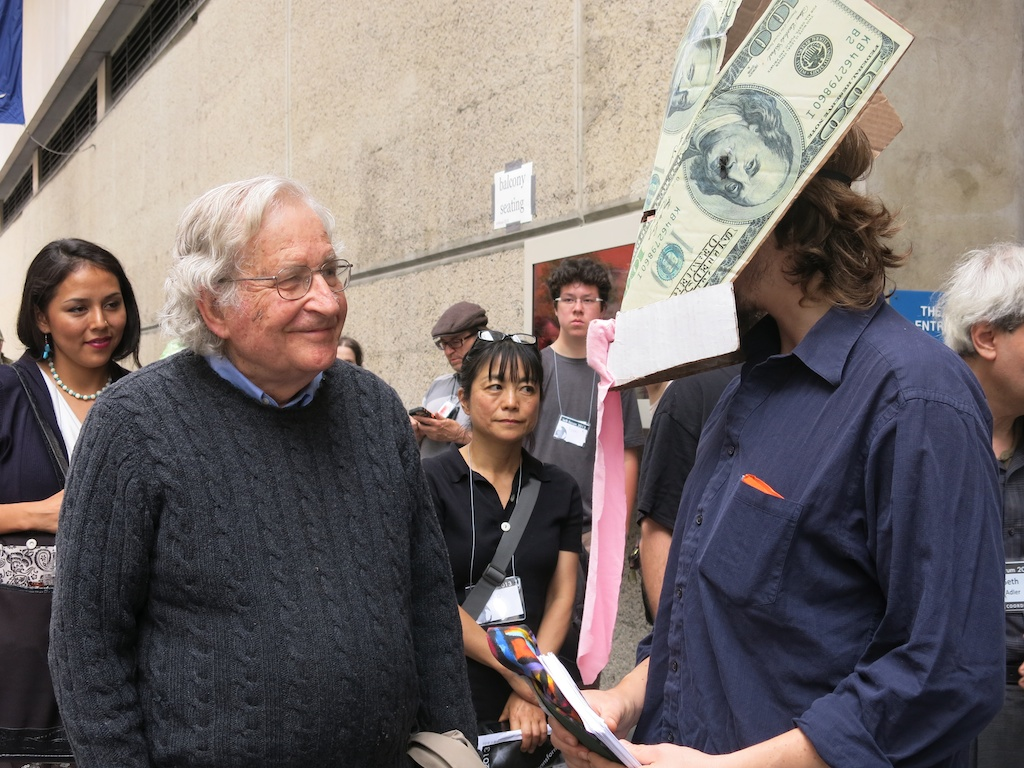 Noam Chomsky vs Money Head
