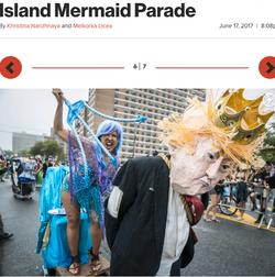 Trump v Mermaid Smackdown