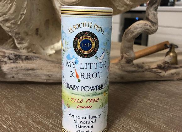 My Little Karrot Talc Free Powder