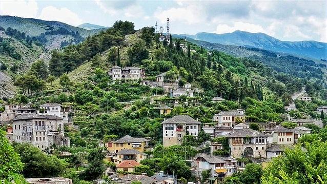 UNESCO heritage old town of Gjirokastra