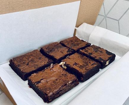 Boxed brownies