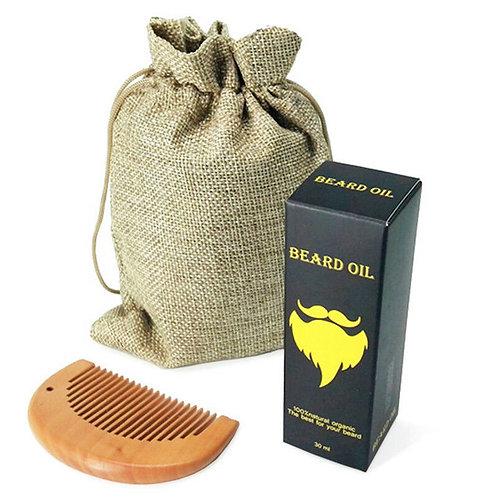 Beard Growth Oil & Comb