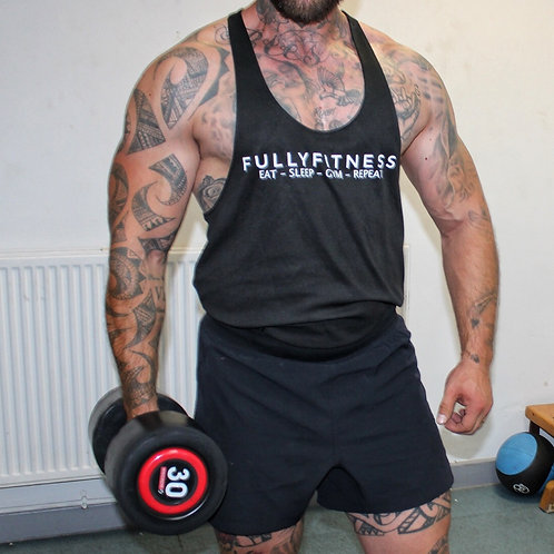 FF Eat Sleep Gym Vest