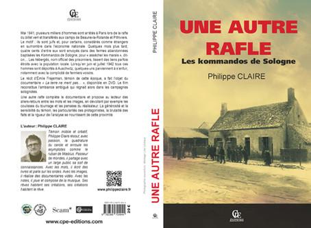 Dédicace en Indre-et-Loire le 1er octobre !