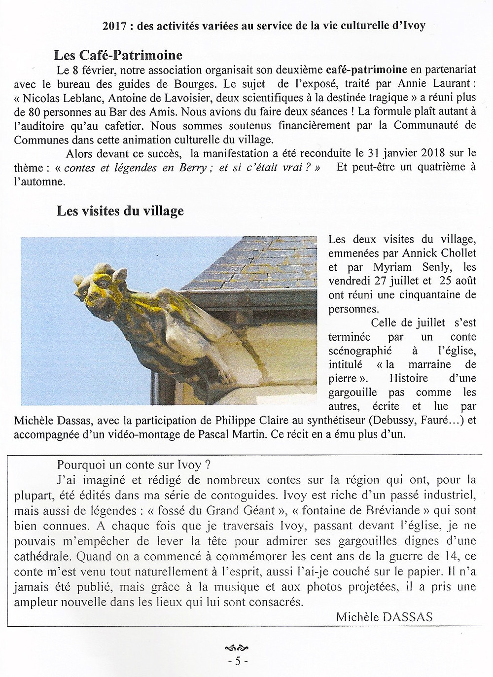 Bulletin de l'association Saint-Aignan
