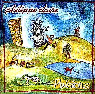 Recto du CD Pulsions dePhilippe Claire
