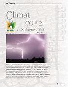 Vignette de l'article de Philippe Claire sur le climat dans le magazine du Petit Solognot