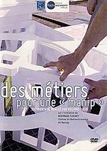 """Jacquette du DVD """"Des métiers pour une manip"""" Observatoire de Paris CNRS"""