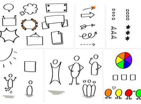 Week 3 - zakelijk tekenen: Visuele bouwstenen