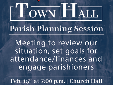 Sacred Heart Town Hall Meeting