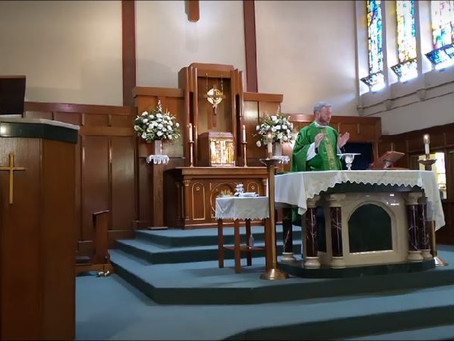 A new daily Mass at Sacred Heart