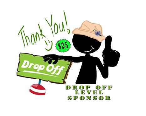 """A Generous Donation  - """"Drop Off"""" Level Sponsor"""