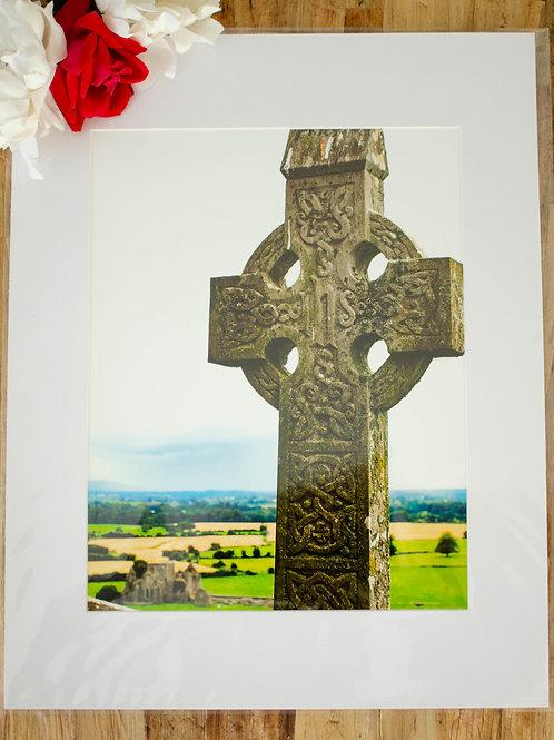 IRELAND CROSS  - 8x10