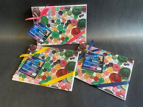 5x7 Student Notecards (5 for $10)