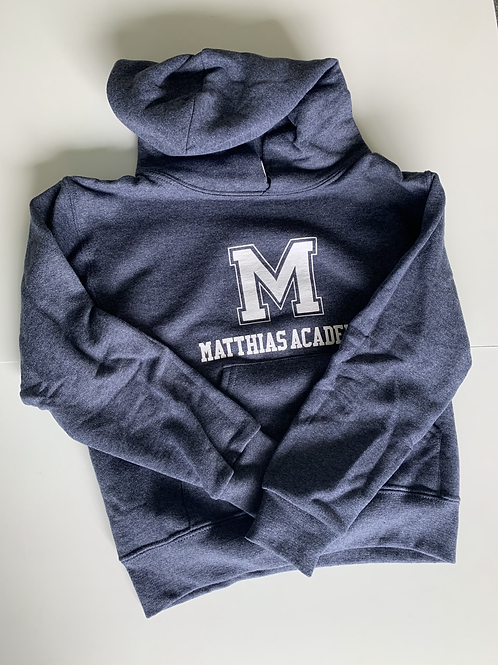 YOUTH Navy Blue Hooded Sweatshirts